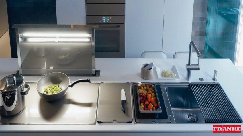 Ολοκληρωμένα συστήματα κουζίνας FRANKE