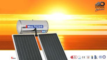 Προσφορές ηλιακών θερμοσιφώνων MALTEZOS για τον μήνα Ιούνιο